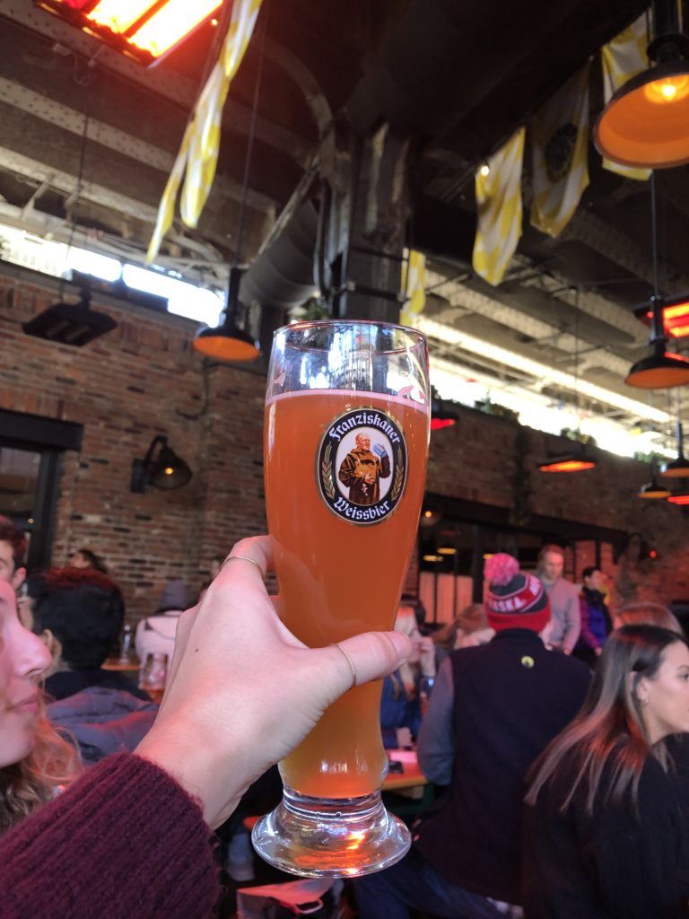 New York Travel Guide - Beer from Standard Biergarten