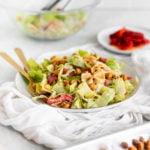 healthy meal prepe caesar salad