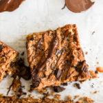 Healthy meal plan cookie bar