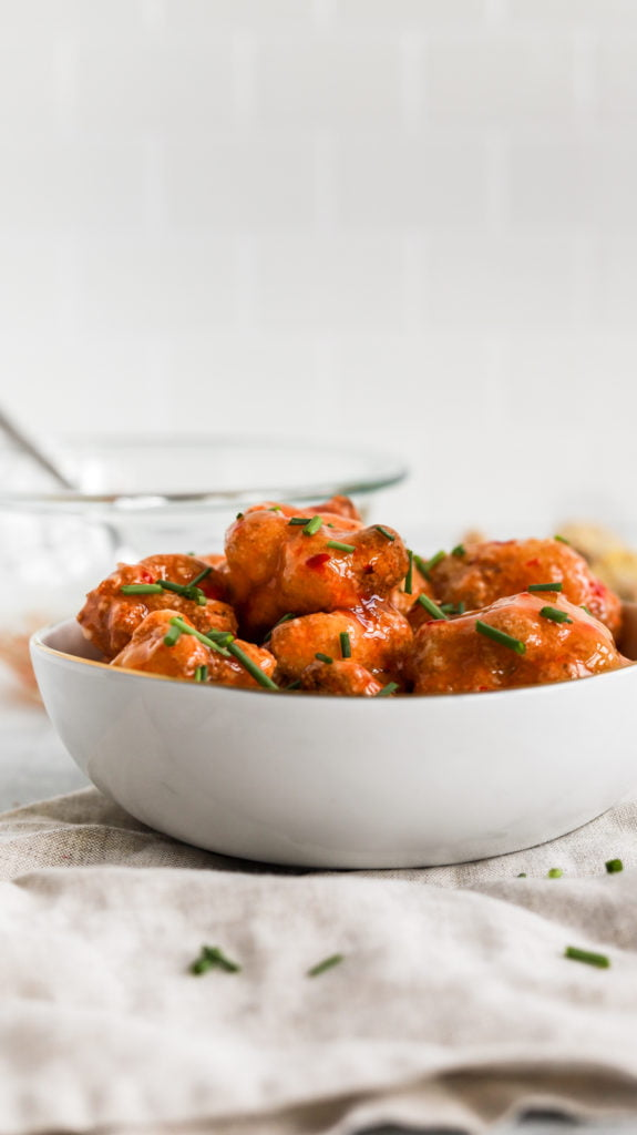 spicy cauliflower wings