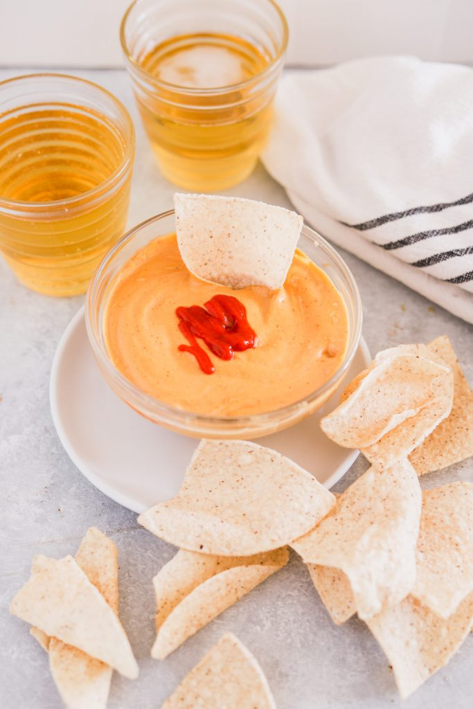 healthy meal prep cashew queso