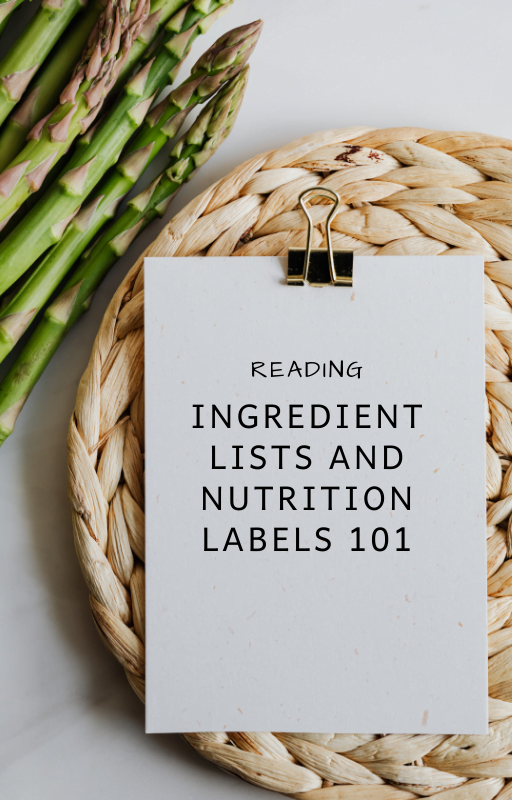 how to read ingredient list title