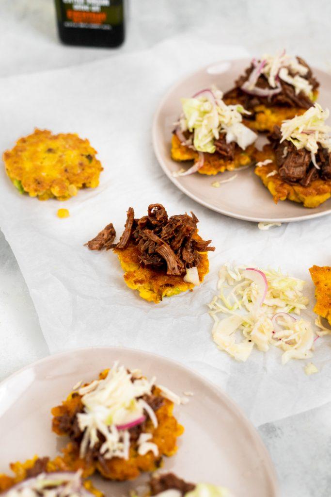 easy corn fritter recipe