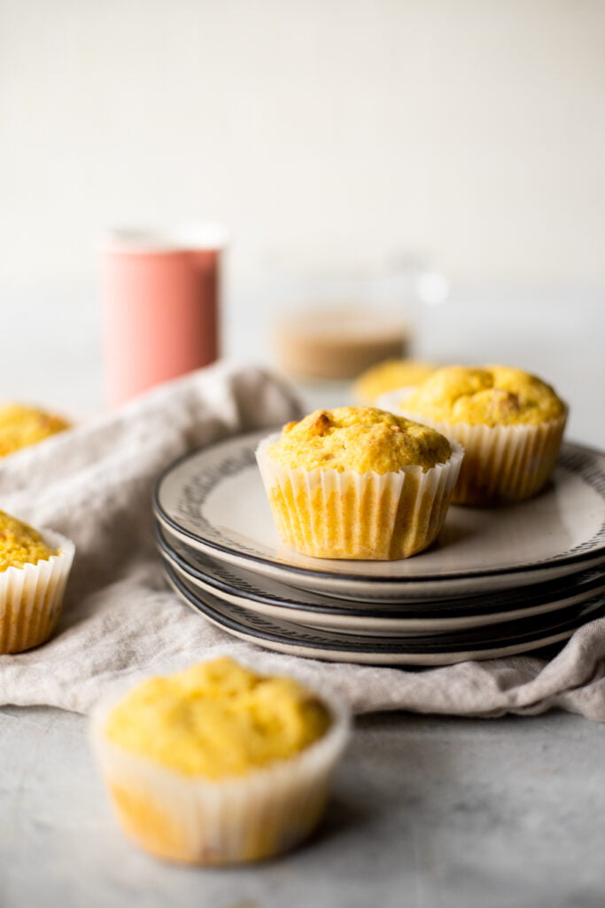 Apple Sausage Cozy Muffin Shot