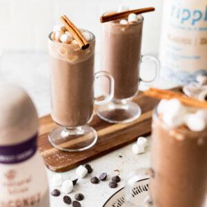 easy frozen hot chocolate